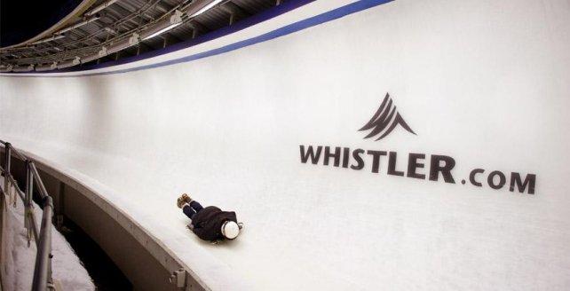 Skigebied Whistler Blackcomb, British Columbia , Canada
