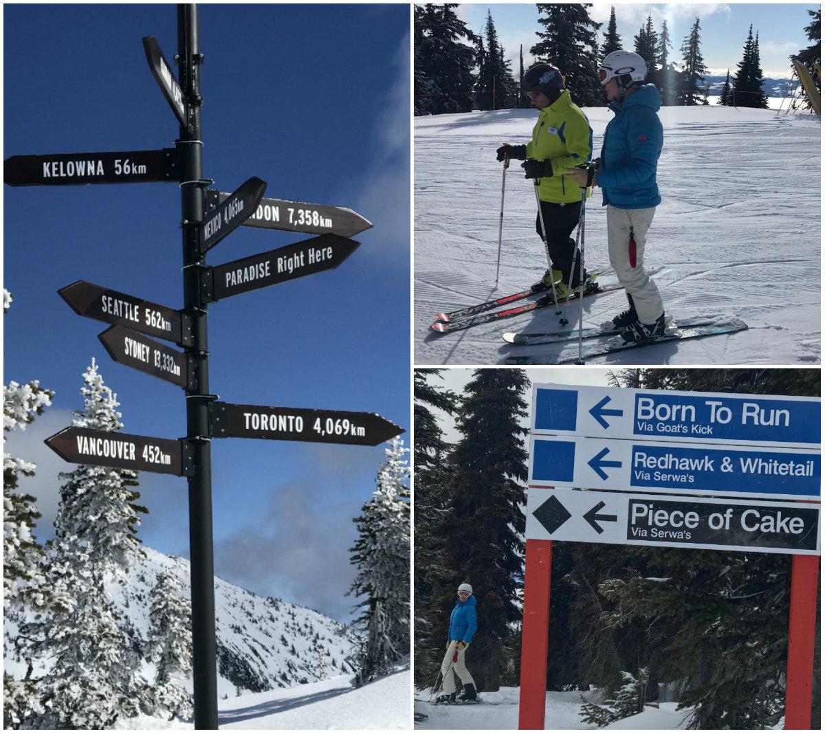 Else van WintersportCanadaAmerika test de pistes van Big White uit.