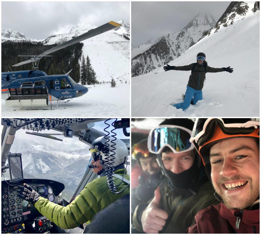 Josee onze reisjournaliste heeft prijswinnaar Doeke geinterviewd over zijn helikopterski trip van RK Heliski