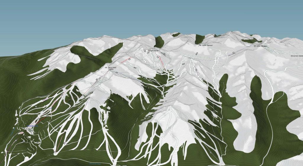 Als het nieuwe skiresort Valemount in Canada zijn deuren opent, kun je er 365 dagen gletsjer skiën