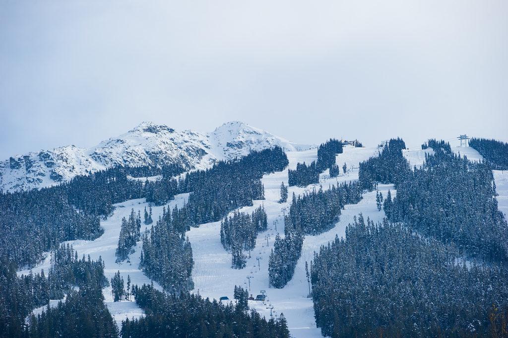 Het grootste skigebied van Canada is Whistler. Combineer Whistler met Sun Peaks, beide geschikt voor alle nivo's skiers