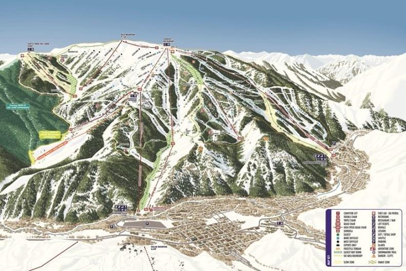 Skigebied Sun Valley