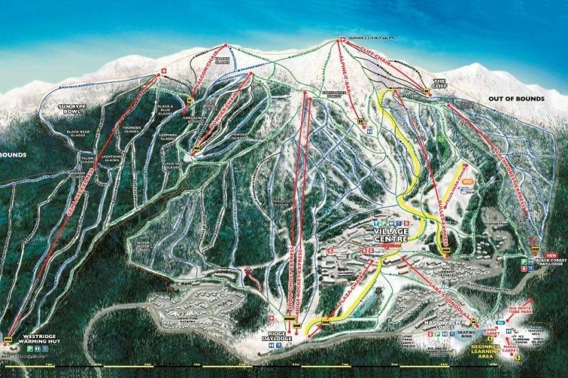 Skigebied Big White
