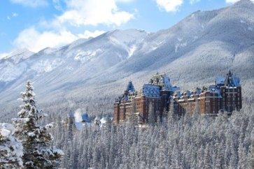 Banff - Fairmont Banff Springs exterior