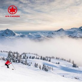 Air Canada aanbieding Whistler 1x1