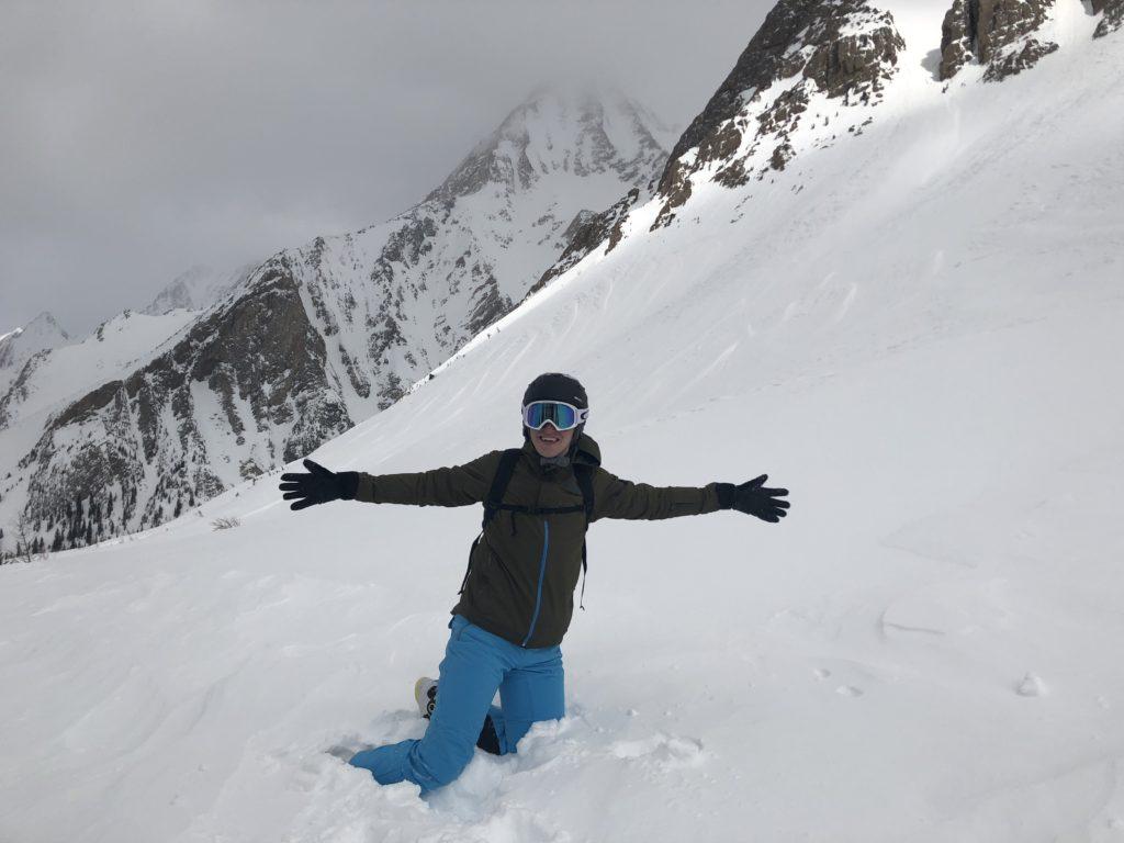 De gelukkige prijswinnaar van een heli trip in Panorama Canada is Doeke Jongkees