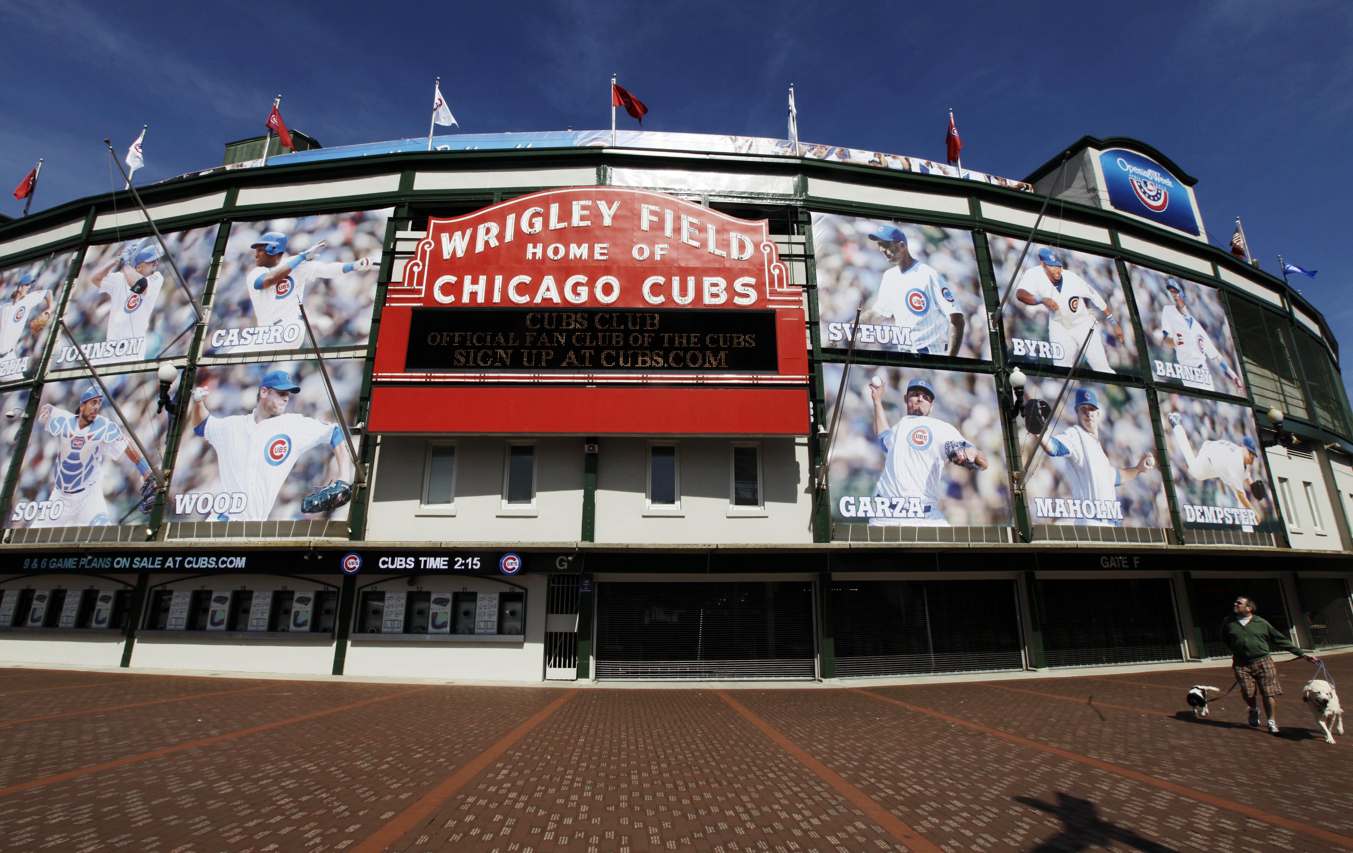 Bezoek tijdens je  Chicago citytrip vooral ook Wrigley Field, het honkbal stadion van de  Chicago Cubs