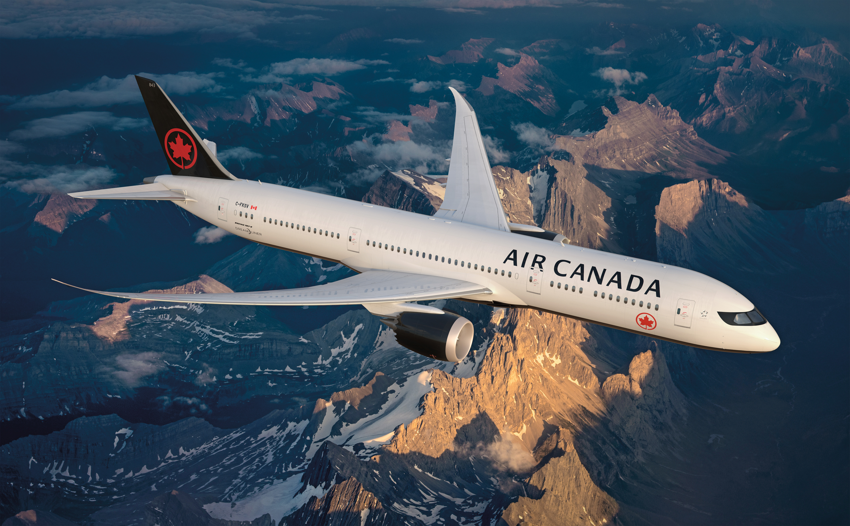 Air Canada vliegt dagelijks met een korte overstap naar de Rocky Mountains.