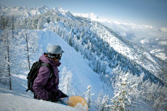 Skigebied Panorama