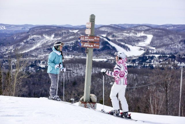 Skigebied Mont Tremblant