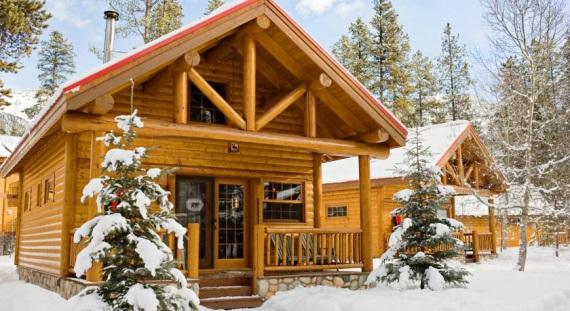 Verblijf in de authentieke Baker Creek chalets vlakbij Lake Louise op deze prachtige skisafari in Canada