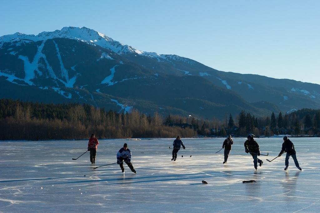 Whistler Blackcomb icehockey