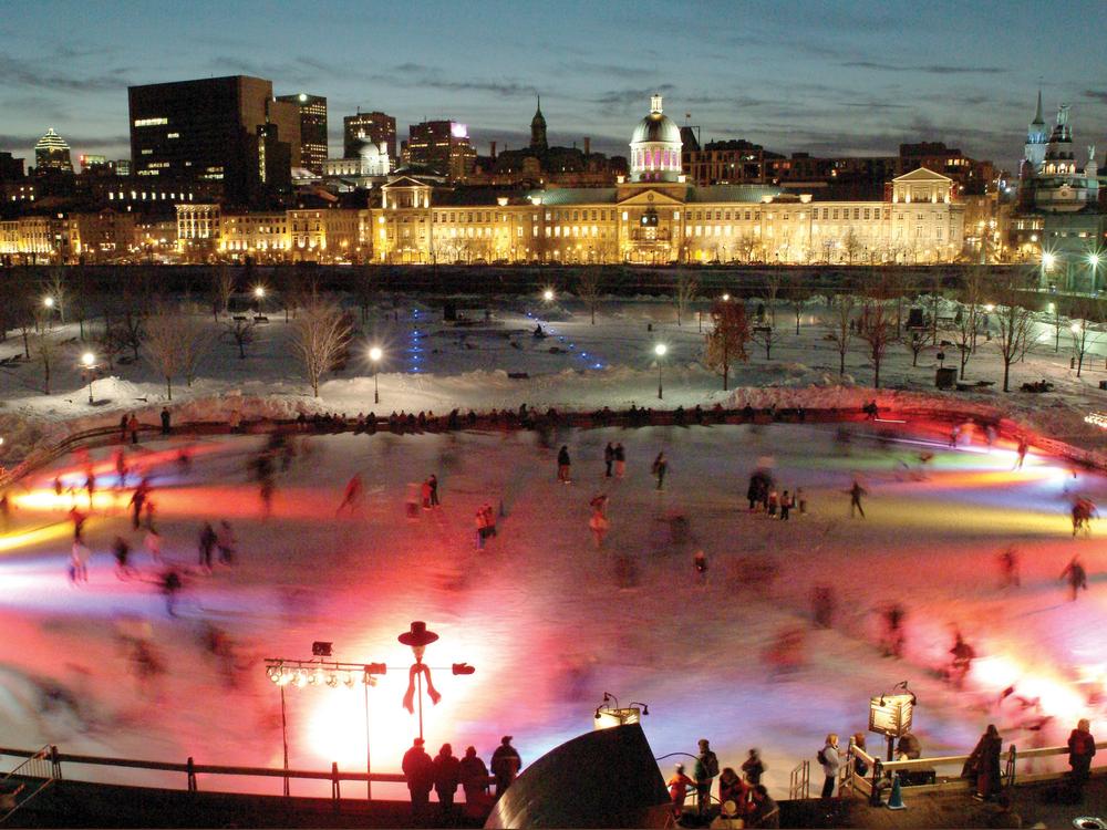 Muziekspektakel Igloo fest vindt ieder jaar in de winter plaats in Montreal
