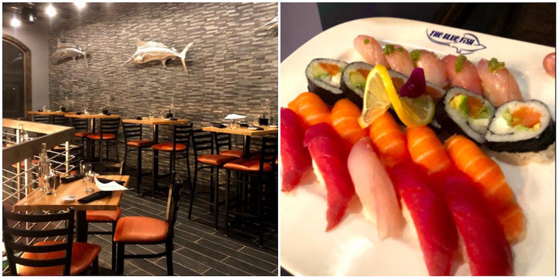 Goede sushi in Breckenridge: Blue Fish Breckenridge: best sushi in town