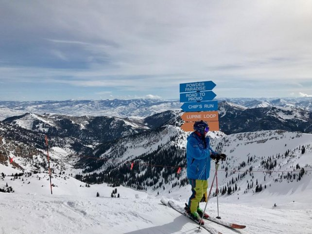 Skigebied Snowbird