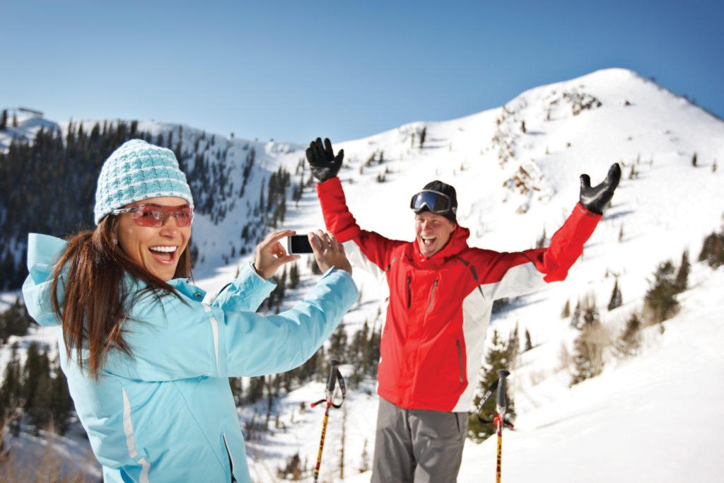 Epic Mix, de app voor foto's en challenges in het skigebied