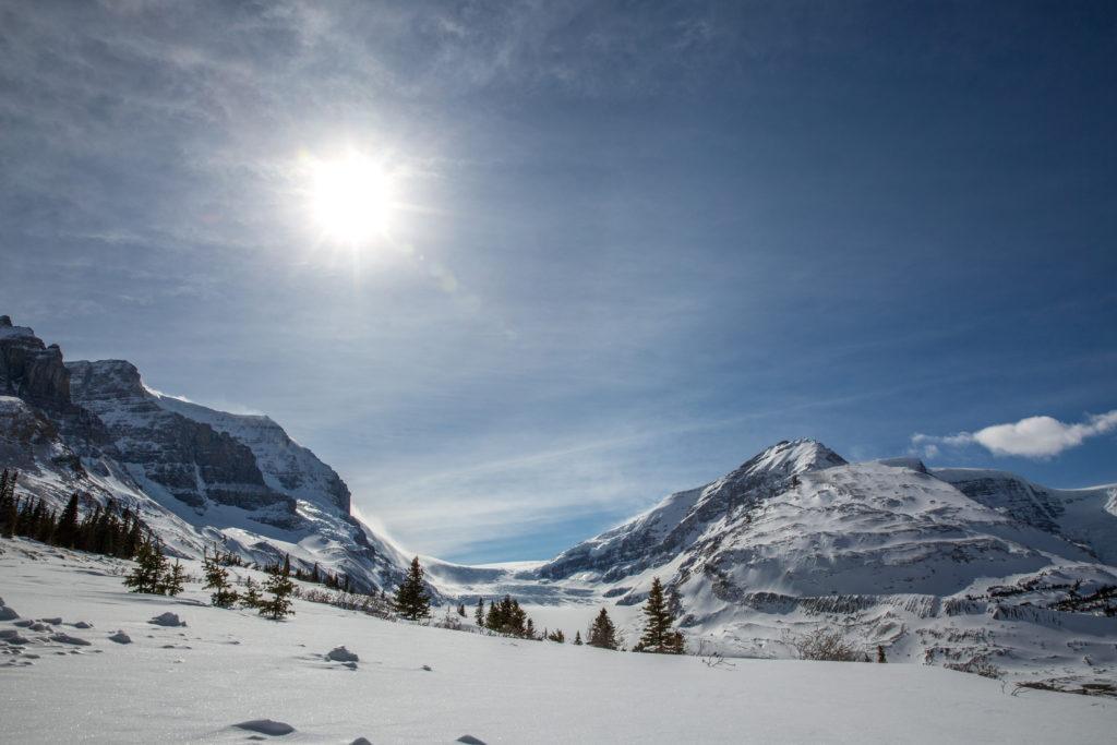 Bezoek op je wintersport in Banff, Canada ook de beroemde Icefields Parkway, behorend tot de 10 mooiste wegen van de wereld!
