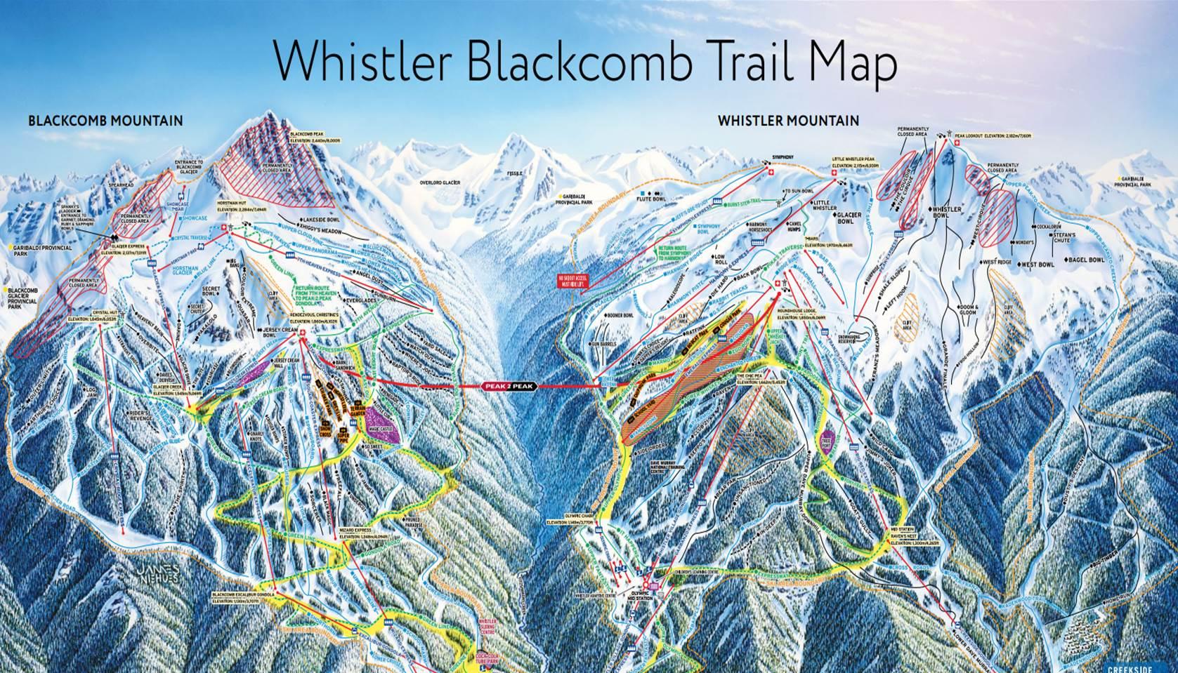 In Amerika is Park City Mountain in de staat Utah het grootste skigebied van Amerika