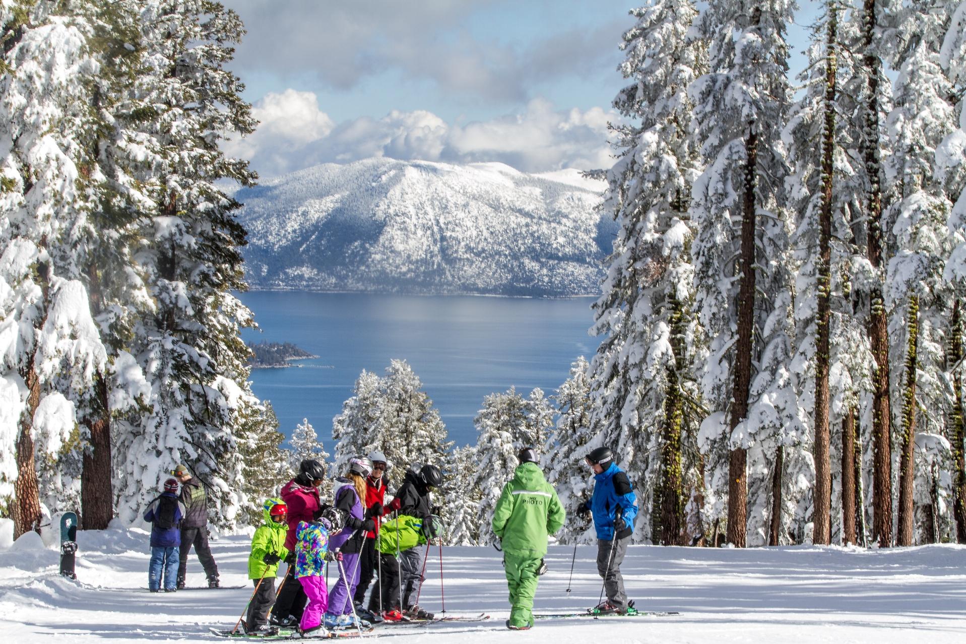Met je gezin in Amerika skiën? Boek je skivakantie naar Heavenly in de staat Californië. Skigebied voor beginners en kinderen