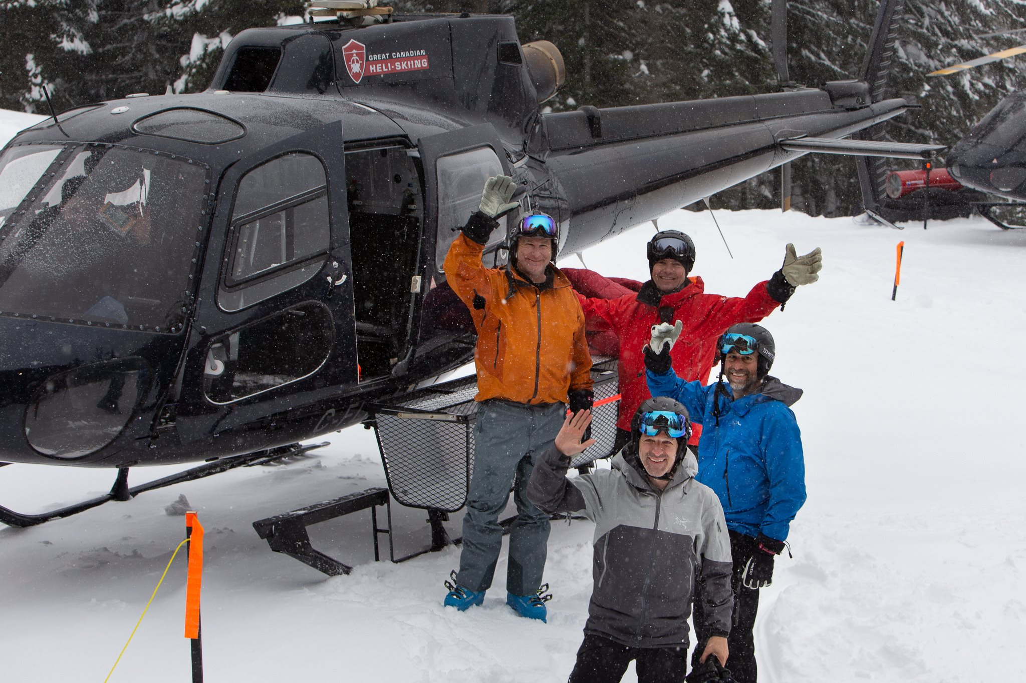 Best Day Ever met Great Canadian Heliski