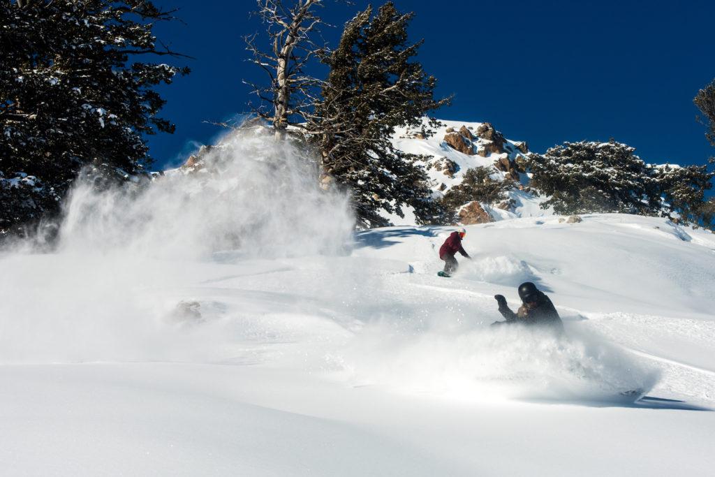Powdermountain is een onbekend skigebied maar een van de grootste van amerika als je het gedeelte meetelt waar je met een catski omhoog gaat in plaats van met een lift.