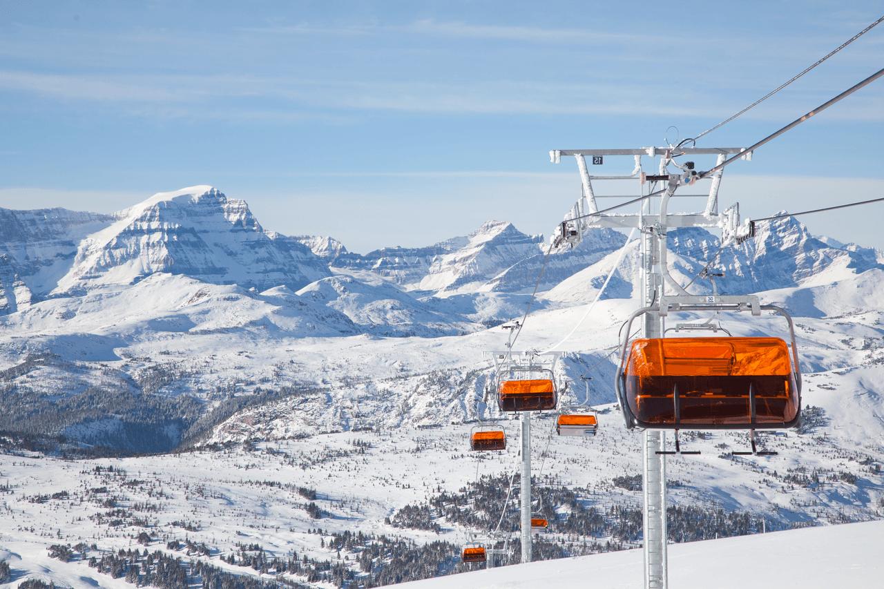 Skigebied Banff