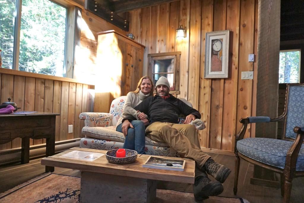 Nederlandse eigenaren Paul en Annelies bouwden de Logden Lodge in Ymir