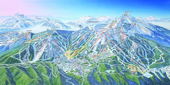 Het mooie Vail ligt in de staat Colorado in Amerika en is het 3 na grootste skigebied ter wereld.