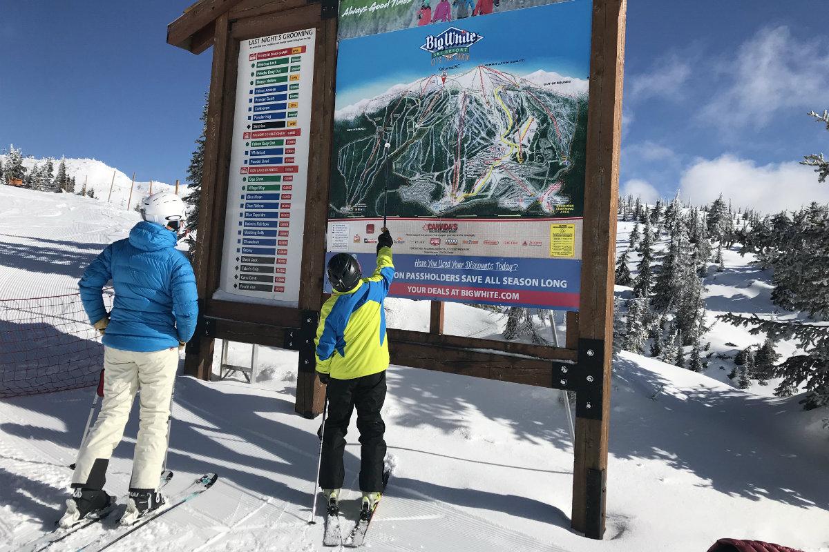 Big White Master's Weeks is een aanraders voor 50+ skiers