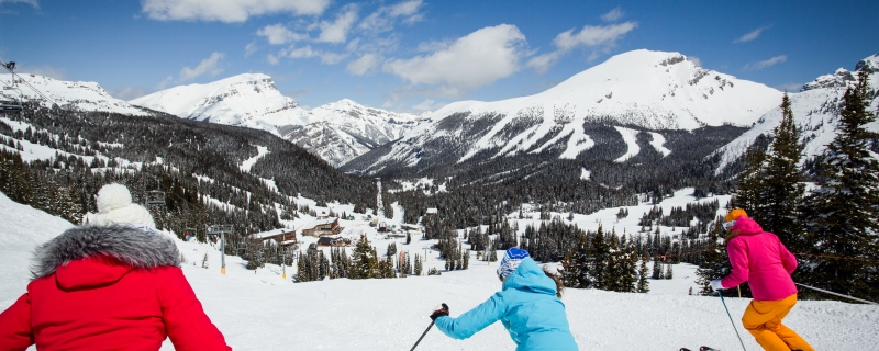Vier in Banff je ultieme ski vakantie en boek je hotel liftpas en excursie bij Wintersportcanadaamerika