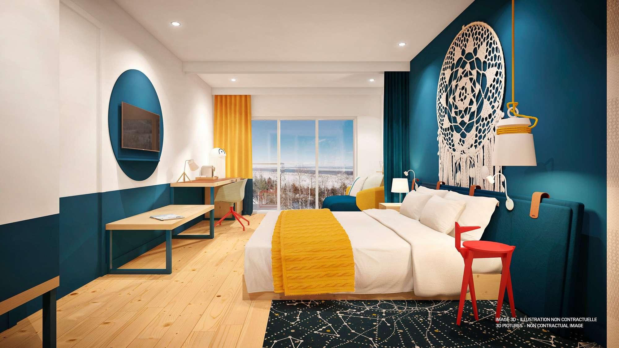 Er zijn clubkamers, luxere kamers en suites in het eerste hotel van Club Med in Canada