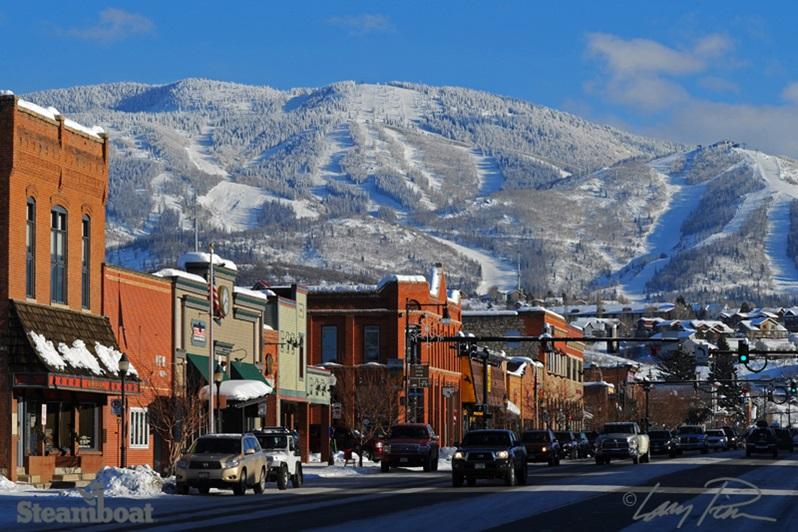 Steamboat biedt een top skigebied met champagne poeder en ook nog eens een super gezellig dorp, een echte 'Western' Town.