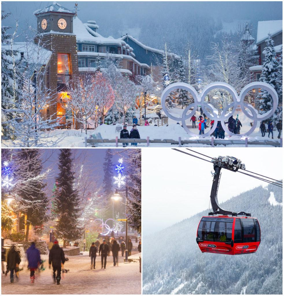 Whistler ligt op 1 uur rijden van de luchthaven Vancouver in Canada. Kies uit een luxe bustransfer of een huurauto