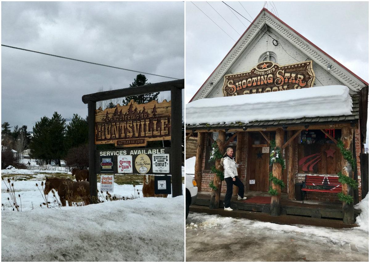 Huntsville in Utah Amerika is een heuse western spot. Maak hier een stop op je doorreis naar het skigebied Powder Mountain