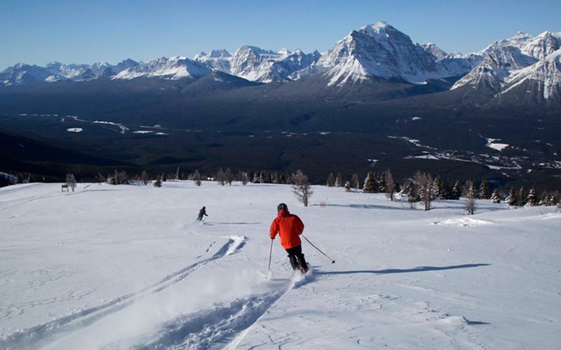 Het skigebied Jasper ligt in de provincie Alberta en op zo'n 3,5 uur rijden van de stad Edmonton