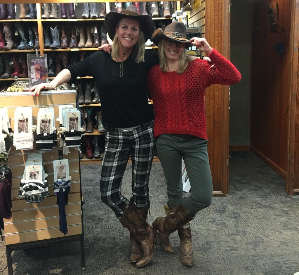 Else bezoekt F.M. Light & Sons in Steamboat Springs in Colorado, Amerika