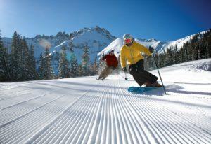 Wintersport in Canada of Amerika, leer de skitermen die specifiek zijn voor je skivakantie zoals Corduroy