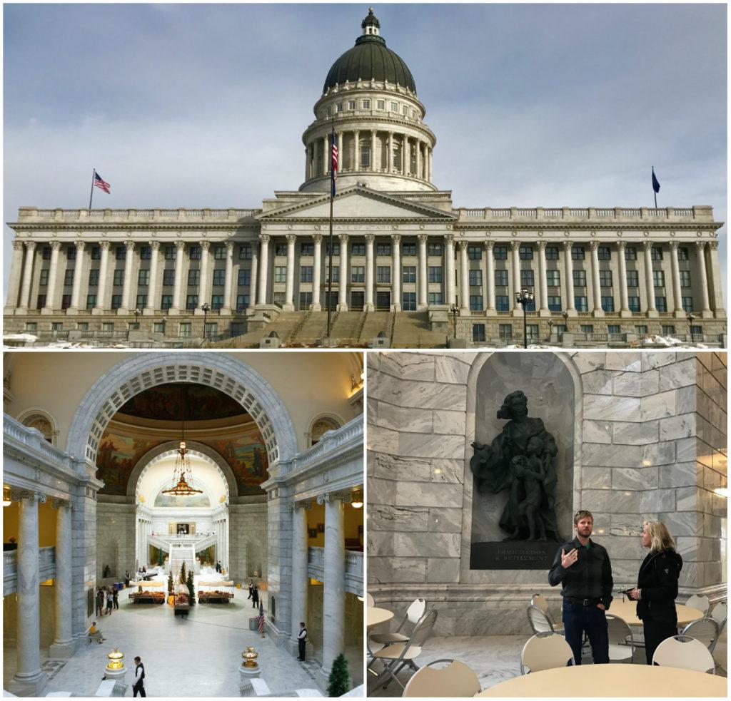 De stad Salt Lake City is bekend van Olympische Winter Spelen 2002 en ligt in de staat Utah