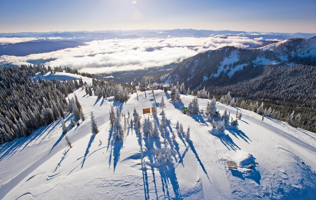 Logden Lodge in Ymir ligt dichtbij Whitewater skigebied