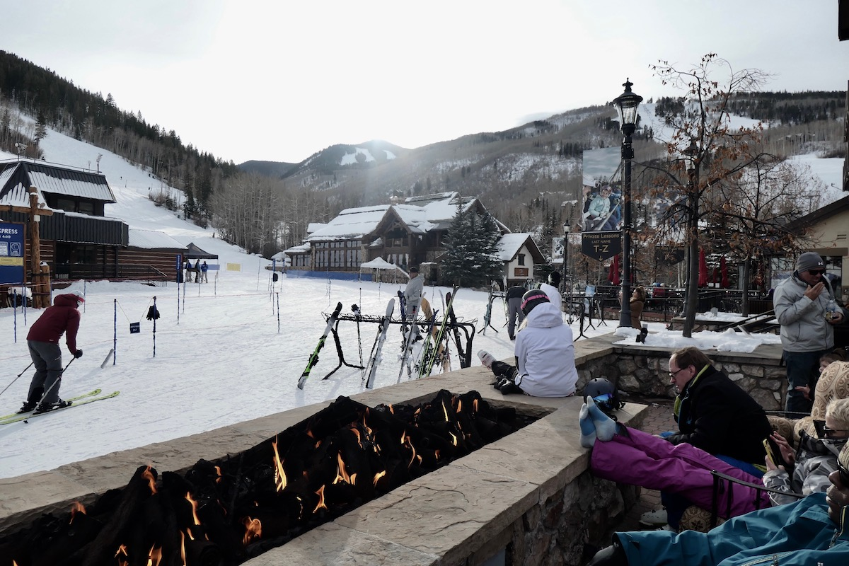 Pisteboulevard van Beaver Creek Colorado