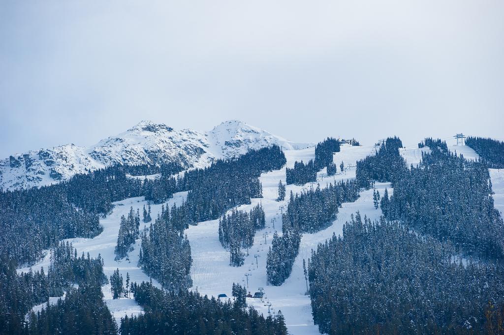 Whistler, grootste skigebied van Noord Amerika. Whistler Blackcomb is het allergrootste skigebied van Canada en Amerika.