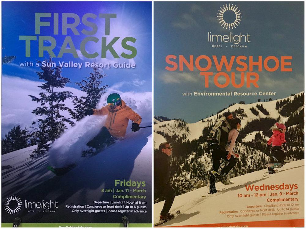 Gratis outdooractiviteiten: Verken het nog gesloten gebied met gids of maak een sneeuwschoenwandeling incl schoenen!