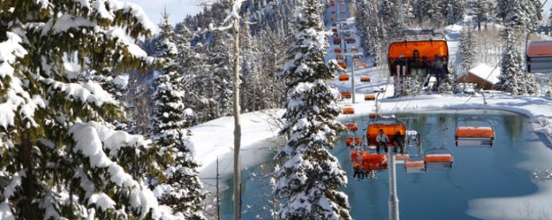 De accommodaties in het skiresort Park City Mountain zijn allen aan de pistes gelegen, ski- ski-out
