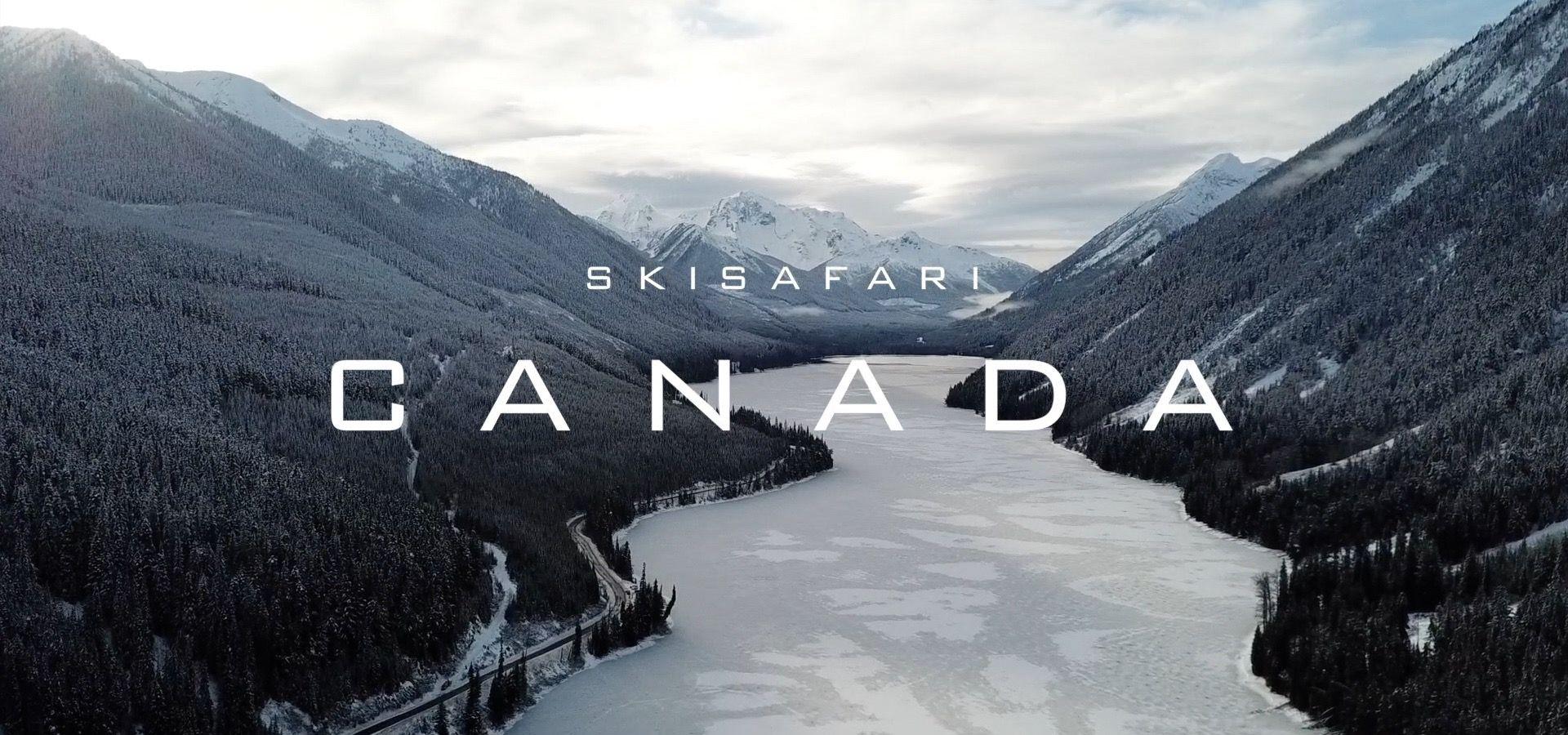 Video van skisafari Canada met Banff, Jasper, Sun Peaks en Whistler