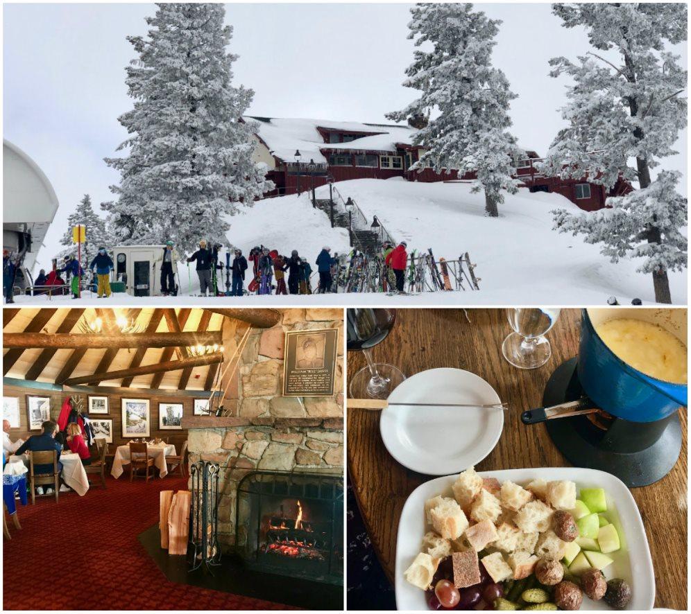 Must-eat's in het skigebied van Sun Valley: The Roundhouse Restaurant met zowel een fine-dining als een skiërs restaurant.