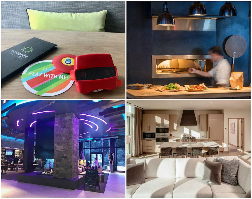 Limelight Ketchum: Gratis luxe transfers, skiverhuur bij het hotel, op loopafstand van vele eet-adresjes en de supermarkt.
