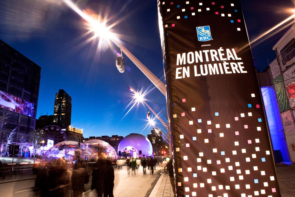 In de winter is Montreal prachtig met oa de Lawrence River