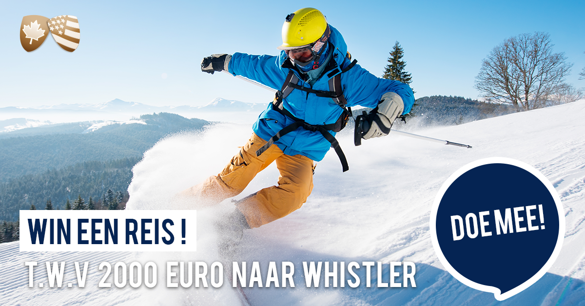 Winactie Whistler en Vancouver wintersport Canada Amerika
