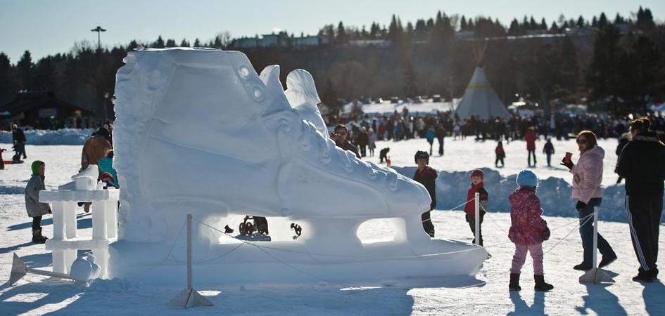 Bezoek het Silver Skate Festival tijdens je wintersportvakantie in Edmonton