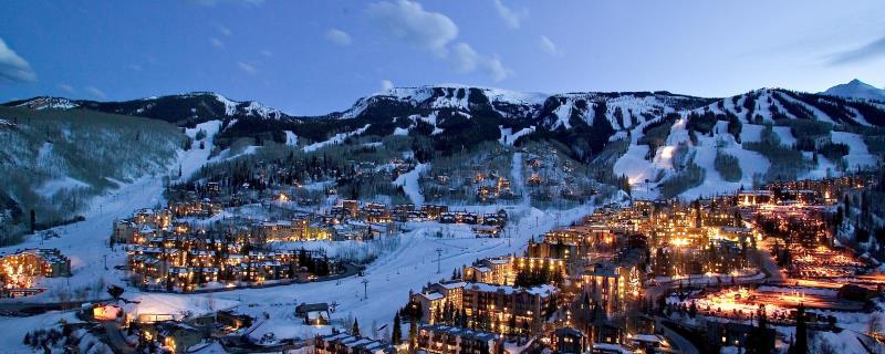 Aspen is gelegen op zo'n 2400 tot 3800m. Het is van belang om te hydrateren